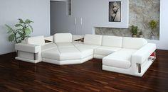 White Modern Sectional Sofas   Google Search