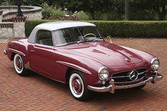 Mercedes-Benz #190SL. Source: https://www.flickr.com/photos/8292359@N06/9390496732/. For all your Mercedes Benz #190SL restoration needs please visit us at http://www.bruceadams190sl.com. #BruceAdams190SL #190SLRestorations