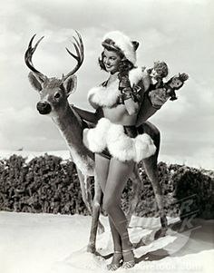 Esther Williams is all dressed up and ready to party this holiday season!