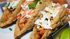 Chicken Wonton Tacos Recipe on Yummly. @yummly #recipe