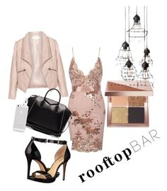 """""""Untitled #6"""" by vanessagonzalez-7 ❤ liked on Polyvore featuring Zizzi, MICHAEL Michael Kors, Givenchy, Bobbi Brown Cosmetics, summerdate and rooftopbar"""