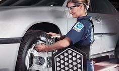 Wheel-Alignment Package or Road Trip Ready Package At Sears Auto Center (Up to 44% Off)