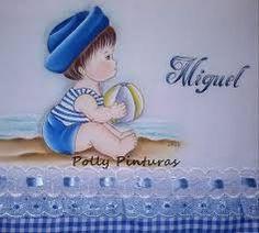 Resultado de imagem para pintura em tecido fraldas Precious Moments, Baby Dress, Smurfs, Coloring Pages, Character, Kids Coloring, Baby Painting, Crochet Cupcake, Coloring For Kids