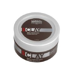 L'Oreal Professionnel Homme Clay (Strong Hold Matt Clay)
