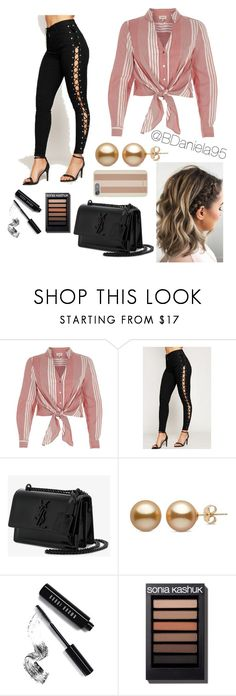 """Untitled #273"" by daniela95140 ❤ liked on Polyvore featuring River Island, WearAll, Yves Saint Laurent, Bobbi Brown Cosmetics and Michael Kors"