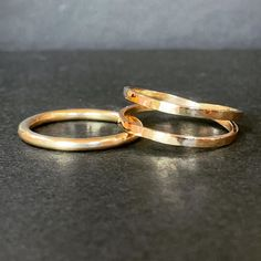 Friends Bahar and Hannah made these beautiful 9ct yellow gold rings in the last Silver Ring Workshop in March. You can make your piece from gold in any of the workshops. Just let us know a few weeks before the workshop date, so the gold can be ordered in.