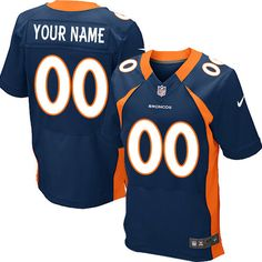 051f4e8359b (New Elite Nike Men's Peyton Manning Navy Blue Super Bowl XLVIII Jersey) Denver  Broncos Alternate NFL Easy Returns.