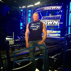 Don't miss #TheBeast #BrockLesnar on @espn @sportscenter coming up at 10pm ET! #ESPNNews