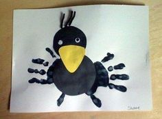 Artsonia Art Museum :: Artwork by >> Edgar Allen poe craft for kids Vbs Crafts, Daycare Crafts, Sunday School Crafts, Bible Crafts, Preschool Crafts, Fall Crafts, Preschool Bible, Fall Preschool, Preschool Activities