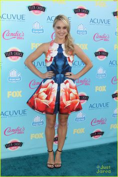 Becca Tobin at Teen Choice Awards 2013