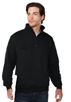 Mens Firefighters Sweatshirt (80% Cotton 20% Polyester). Tri mountain 647 #Firefighter #Sweatshirt #formen #black