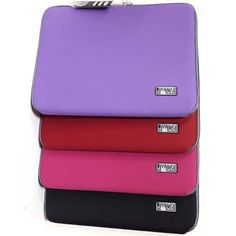 Laptop Computer Sleeve Cover for laptops up to in Black, Red, Purple or Fuschia PinkDimensions: 40 x 31 x flat Laptop computer Notebook slip case cover sleeve suitable for or laptops at Tontojacks Shop Plymouth Computer Sleeve, Laptop Computers, Notebook, Wallet, Purple, Cover, Bags, Shopping, Handbags