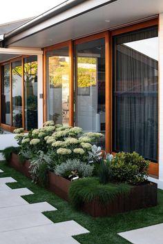 Balcony Garden, Garden Beds, Garden Plants, Small Gardens, Outdoor Gardens, Landscape Design, Garden Design, Small Shrubs, Garden Inspiration