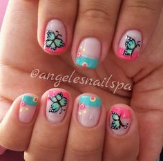 Angela, Nail Ideas, Ideas Para, Nail Art, Beauty, Enamels, Work Nails, Black Enamel, Kid Nails