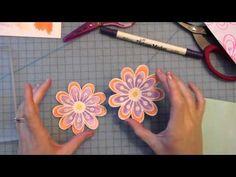 Distress Watercoloring