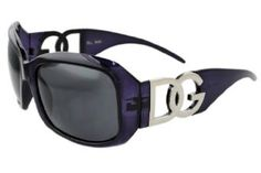 Ladies Polarized Sunglasses DG Eyewear Purple Frame with Microfiber Bag DG Eyewear. $8.21