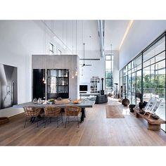 #design #neumanhayner #architects #interiordesign #interior #insideout #timber #industrial #homedesign #interiorstyling #artwork #customhomes