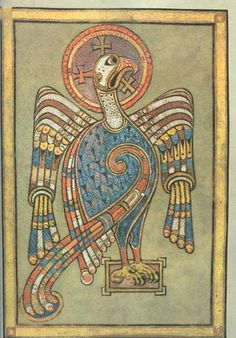 The Symbol of St. John from the Book of Kells