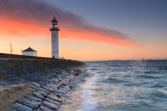500px / Sunrise Lighthouse @ Hellevoetsluis by Marcel Tuit