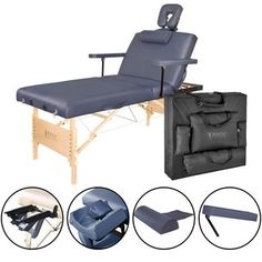 Master Massage Coronado Salon LX Portable Massage Table Package, Royal Blue, 31 Inch * You can get more details here : SkinCare for legs Portable Spa, Portable Table, Lift Table, Table Set Up, Back Lift, Japanese Massage, Spa Chair, Massage Table, Massage Chair