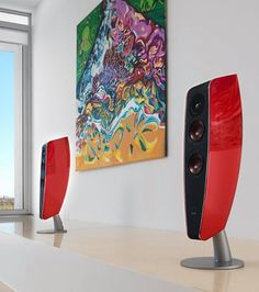 The DALI FAZON F5 loudspeaker is a unique design loudspeaker made by die-cast aluminum, which provides you with amazing sound. This loudspeaker will bring you a great sound and a shape to die for