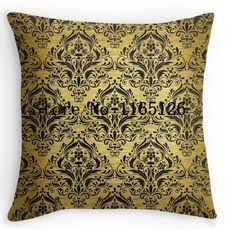 New Arrival cool gold MARBLE design Luxury Print Square Pillowcase Nice Pillow Cover free shipping #Affiliate