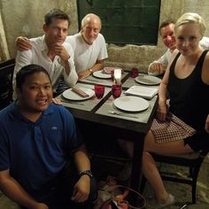 Tywin Lannister took his son and Brienne out to dinner. //buzzfeed's 16 Times The Cast Of #GameofThrones Was Totally Out Of Character This Summer