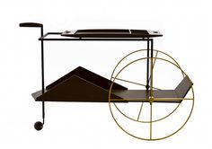 DPAGES – a design publication for lovers of all things cool & beautiful | PARTY ON WHEELS: 12 Favorite Bar Carts & Trolleys