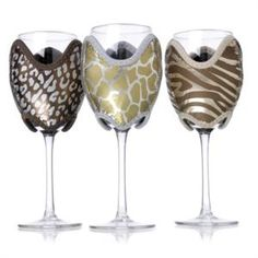 Wildlife Wine Coozies...for all my sophisticated winos out there...you know who you are