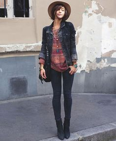 street-style-jaqueta-jeans-escura
