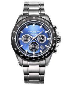 Vædderen guld inspirere Vagabond Chronograph Quartz G 7001 SBK-BU Herreur - CityWatches. White Watches For Men, Gold Watches, Leather Watches, Stainless Steel Bracelet, Stainless Steel Case, Nato Strap, Online Watch Store, Watch Brands, Casio Watch