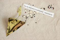 DIY Confetti-Filled Fortune Pockets // Design Sponge