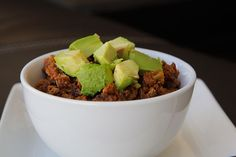 Crockpot Turkey & Pumpkin Chili  #justeatrealfood #amazingpaleo