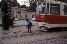 Bucharest trams in 1982 Capital Of Romania, Socialism, Adolescence, Public Transport, Buses, Around The Worlds, Memories, Humor, Fun