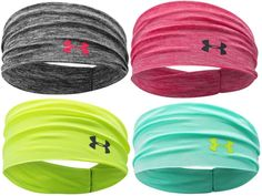 Under Armour Women's UA Boho Headband 1257535 Multiple Colors Size OSFA #UnderArmour- Just bought the black one, pretty excited