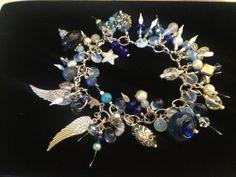 JewelryHandcrafted Jewelry Bracelet Charm by oldredmaredesigns, $56.25