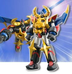 Dynamite Action Gaiking the great LEGEND OF DAIKU-MARYU Evolution Toy