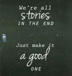 This is my absolute FAVOTITE quote from Doctor Who!!