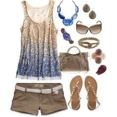 Blue & Brown Summer, created by smgilreath
