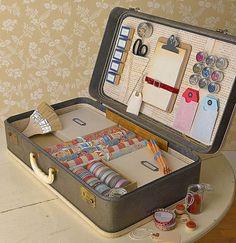 Quiero una maleta como esta!!    Yo no la quiero, yo la tengo que hacer!
