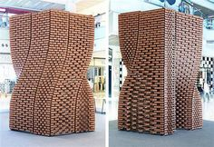 3D printed terracotta brick tower explores robotics in architecture (Video) : TreeHugger -  http://bit.ly/2wApKHF Information Society