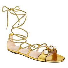 Gucci Willow gladiator sandals, $695  nordstrom.com
