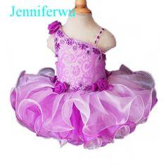 Infant/toddler/baby/children/kids Girl's glitz Pageant evening/prom Dress/clothing 1-6T G108