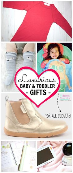 You don't have to break the bank for these luxury baby gifts! Gorgeous, high-quality, and USEFUL products for new moms, babies, and toddlers.