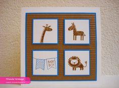 Miranda's Creaties - Spelen met SU #4: Zoo baby boy