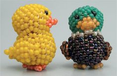 3D Bathtub Duck | Bead-Patterns