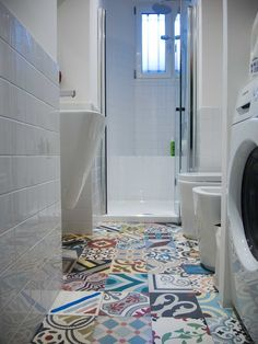 Focus on: bathroom tiles