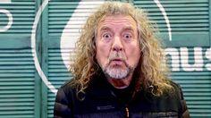 "waywaydowninside: ""The exquisitely goofy Robert Plant at BBC Radio 6, November 30, 2017. """