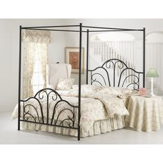 Hilale Dover Canopy Bed Hl1527