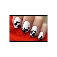 Cute Easy Nail Designs found on Polyvore